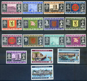 Guernsey 1969 Definitives 16v to £1 fine unmounted mint (2020/11/20#06)