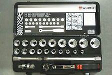 Würth Zebra 1/2 Zoll Multisteckschlüsselsortiment 23-tlg ( 096513 023.68)