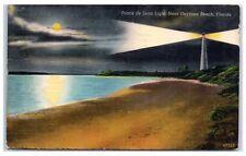 1950 Ponce de Leon Light, near Daytona Beach, FL Postcard