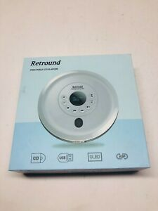 2020 Upgrade Portable CD Player with Headphones Retround CD Player with OLED