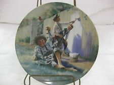 Adventures Of Tome Sawyer Collectible Plate Whitewashing The Fence 1987 LE #7804