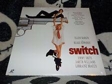 Switch NEW SEALED Widescreen Laserdisc LD Ellen Barkin Free Ship $30 Orders