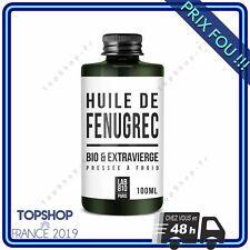 HUILE DE FENUGREC BIO 100% Pure et Naturelle Augmentation de la Poitrine 100 ml