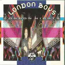 LONDON BOYS - LONDON NIGHTS 1989 GERMAN GATEFOLD CARD SLEEVE SLIP-CASE WEA YZ393
