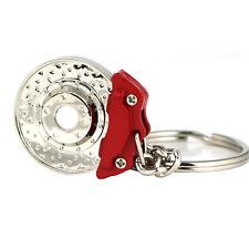 Spinning Disc Brake Keychain Key Chain Ring Keyring Keyfob Key fob Accessories