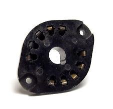 10-polige Stahl-Röhren-Fassung (EL156), Stahlröhrenfassung, alte Produktion!