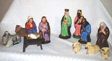 Vintage Nativity Holy Family Mary Joseph Christ Child Jesus Christmas W.Germany