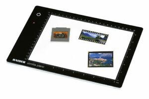 KAISER 2453 SLIMLITE PLANO LED LIGHT BOX NEGATIVE SLIDE VIEWING 22 x 16cm