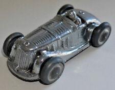 Gaiety GIOCATTOLI Castle Art Products Chrome Roadster auto da corsa tutte rare in metallo (772)