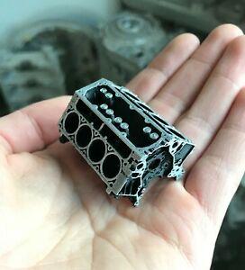 Miniature LS Block V8 - Model Chevrolet Engine - Replica GM Engine - LS3 LS2 LS1