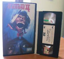 VHS ex-noleggio - TRILOGIA DEL TERRORE 2 - CIC VIDEO - RARISSIMA !!!