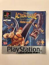 Disney's action game featuring Hercules Sony playstation one PS1 MANUEL seulement Pal