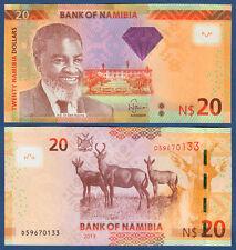 NAMIBIA 20 Dollars 2013  UNC   P. 12 b