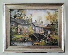 FINE ART PRINT Framed 'Wycoller'' by John Corcoran (Signed by artist)