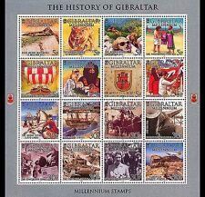 Gibraltar ships millenium 2000 MNH