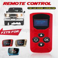 Wohnmobil Diesel Luft Heizung 4 Schlüssel Thermostat Fernbedienung Rot Für LCD