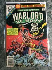Marvel Comics Group 1 John Carter Warlord Of Mars - HGComic Book  B13-20