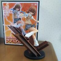 SEGA Toaru Kagaku no Railgun premium figures Misaka Mikoto (prize) Figure Japan