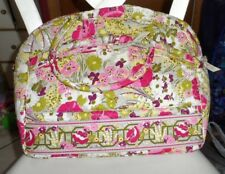 Vera Bradley metropolitan/laptop tote in retired Make Me Blush pattern NWT
