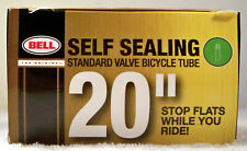 """Self Sealing Standard Valve Bicycle Tube 20"""" Stop Flats While You Ride"""