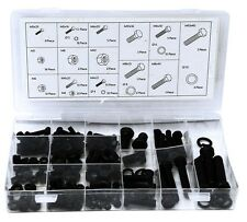 Workshop Toolbox Short /& Long Selection 50pc Nuts and Bolts Mixed Set M3 M4