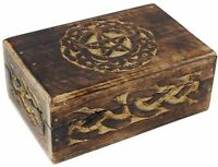 Celtic Circle Tarot Storage Decorative Decor Altar Pentagram Wiccan Fortune