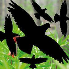 35cm Set Aufkleber schwarz Vögel Warnvögel Warnvogel Fenster Vogel Schutz Folie