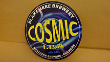 Blakemere Brewery Cosmic IPA Ale Beer Pump Clip face Bar Pub Collectible