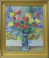 Impressionist - per Sun 1906–1988 » Flower Still Life with Tulips «