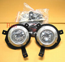Mitsubishi L200 05 06 Front Clear Fog Light Lamp OS NS animal warrior pickup 07