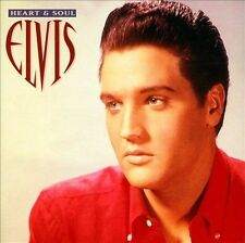ELVIS PRESLEY - HEART AND SOUL (CD) CRACKED CASE! NEW! FREE SHIPPING!