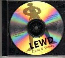 (CL422) Lewd, Sticks & Stones - 2001 DJ CD
