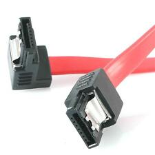 StarTech LSATA18RA1 18in Latching SATA to Right Angle SATA Serial ATA Cable Red