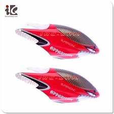 2x Head Cover / Canopy For FXD A68688 68688 RC Helicopter Spare Parts