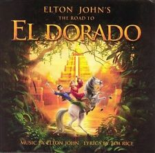 ELTON JOHN'S - The Road to El Dorado (Original Soundtrack) CD [A156]