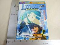 LUNAR 2 Eternal Blue Perfect Guide Book PS MW*