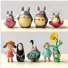 9 figures/lot Studio Ghibli Totoro. Toys Anime Manga Muñecos Juguetes Dibujos