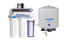 Dual Use Reverse Osmosis Water Filter System Aquarium/Drink RODI +Permeate Pump