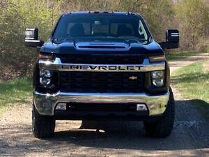 6.6L L8T V8 liter gas chrome emblems Chevrolet Silverado 2500HD 3500HD 2020 2021