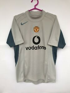 MANCHESTER UNITED 2004 2005 NIKE GOALKEEPER FOOTBALL SHIRT JERSEY
