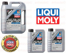 7 Liter  Engine Motor Oil  TOP TEC 4605 5W30 Liqui Moly Fully Synthetic