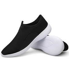 Mens Running Walking Shoes Slip Lightweight Breathable Fashion Gym Sneakers