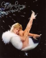 GINGER LYNN SIGNED 8x10 PHOTO + HOF XXX PORN MOVIE ACTRESS LEGEND BECKETT BAS