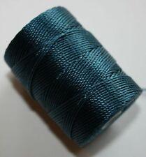 C-lon PEACOCK 0.5mm cord - thread, bead, stringing, crochet, macrame