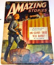 Amazing Stories – US pulp – April 1951 - Vol.25 No.4 - Asimov, R M Williams