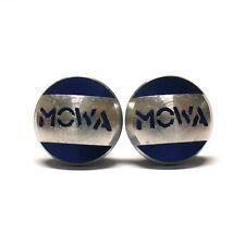 MOWA Pivot Bolts, 10mm for Rear Frame Brake Bolt Holes, Blue, 955