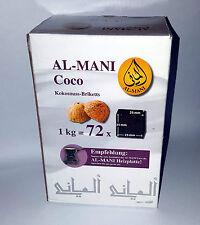 Al-Mani Kokoskohle Briketts Naturkohle 1 kg