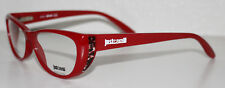 JUST CAVALLI JC0454 072 RED New Cats Eye Optical Eyeglass Frame For Women