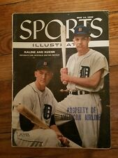 May 14 1956 Kaline and Kuenn Sports Illustrated cover