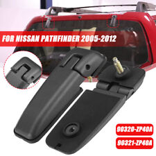 Left & Right Rear Tailgate Window Glass Hatch Hinges For Nissan Pathfinder